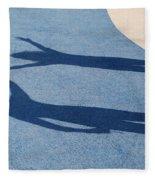 Shadow Friends Fleece Blanket