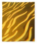 Shadow Light Fleece Blanket