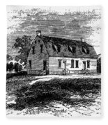 Shaker Church, 1875 Fleece Blanket