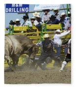 Rodeo Shaking It Up Fleece Blanket