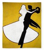 Shall We Dance ... Fleece Blanket