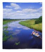 Shannon-erne Waterway Fleece Blanket