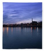 Shannon River Estuary At Limerick Fleece Blanket