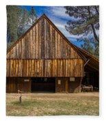 Shasta Barn Fleece Blanket