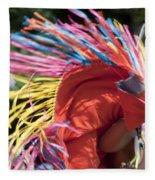 Shawl Dancer Fleece Blanket