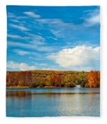 Shawnee State Park Fleece Blanket