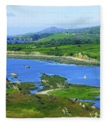 Sheeps Head, Co Cork, Ireland Headland Fleece Blanket