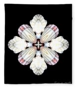 Shell Art 2 Fleece Blanket