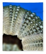 Shell With Pimples 2 Fleece Blanket