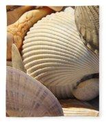 Shells 1 Fleece Blanket