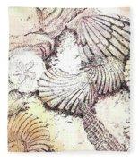 Shells Fleece Blanket