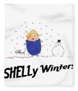 Shelly Winters Fleece Blanket