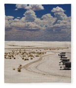 Shelters From The Afternoon Sun Fleece Blanket