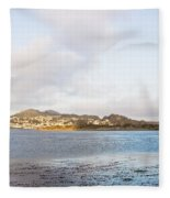 Shhhh - Sea Otters Sleeping Fleece Blanket