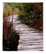 Shi Shi Boardwalk Fleece Blanket