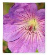 Shimmer Flower Fleece Blanket