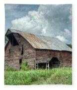Shingle Barn 1 Fleece Blanket