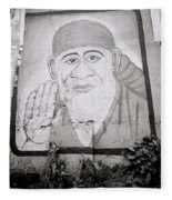 Shirdi Sai Baba In Bombay Fleece Blanket