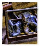 Shoe - The Shoe Cobblers Box Fleece Blanket