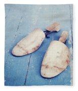 shoe trees II Fleece Blanket