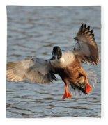 Shoveler Landing Fleece Blanket