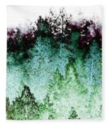 Shrouded In Fog Fleece Blanket