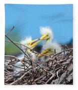 Sibling Rivalry Fleece Blanket