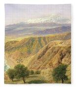 Sicily - Taormina Fleece Blanket