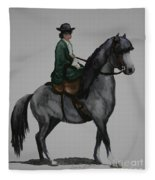 Sidesaddle Fleece Blanket