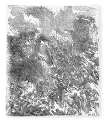 Siege Of Waterford, 1169 Fleece Blanket
