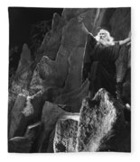 Silent Still: Biblical Fleece Blanket