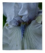 Silky Iris Fleece Blanket