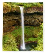 Silver Falls South Falls Fleece Blanket