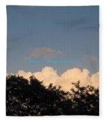Silver Layer Fleece Blanket