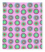 Simple Spots Fleece Blanket