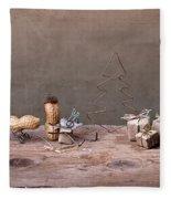 Simple Things - Christmas 06 Fleece Blanket