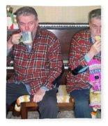 Sip And Dip Fleece Blanket
