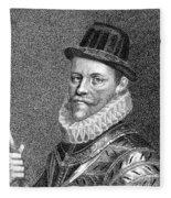 Sir John Hawkins (1532-1595) Fleece Blanket