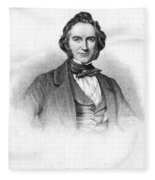 Sir Joseph Paxton Fleece Blanket