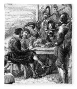 Sir Walter Raleigh Fleece Blanket