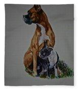 Sister Story Fleece Blanket