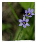 Sisters Of The Purple Plants Fleece Blanket