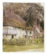 Six Bells Hollingbourne Kent  Fleece Blanket
