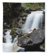 Skagway Waterfall 8619 Fleece Blanket