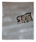 Skate Fleece Blanket