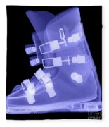 Ski Boot Fleece Blanket