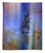 Skky Blue Thyme Fleece Blanket