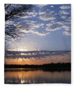 Sky At Dusk Fleece Blanket