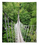 Sky Bridge Fleece Blanket
