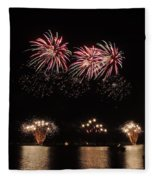 Sky Color Fleece Blanket
